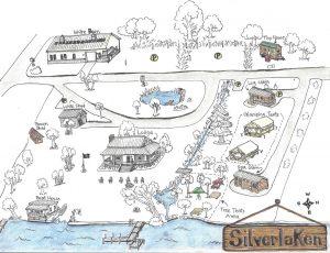 2019 Summer Map of Silverlaken Estate
