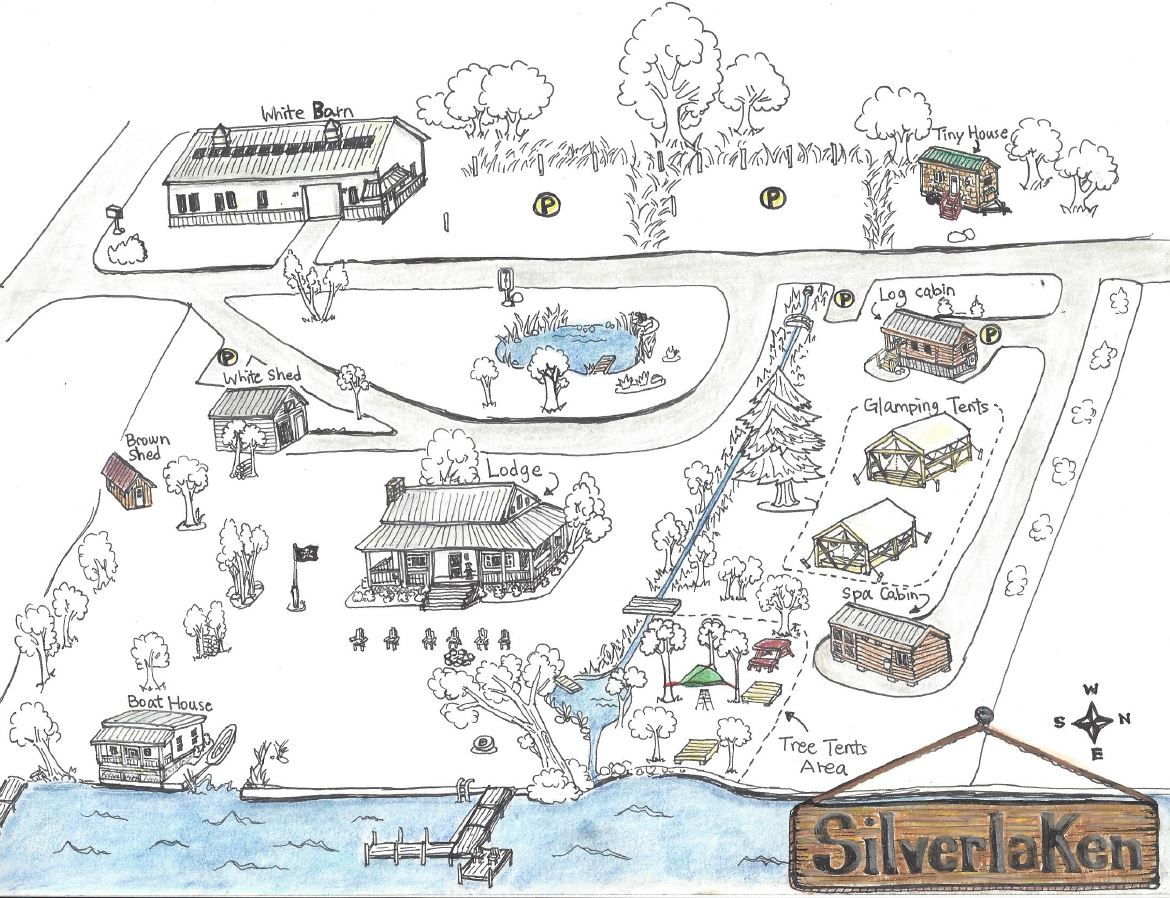 2019 Summer Map of Silverlaken Estate