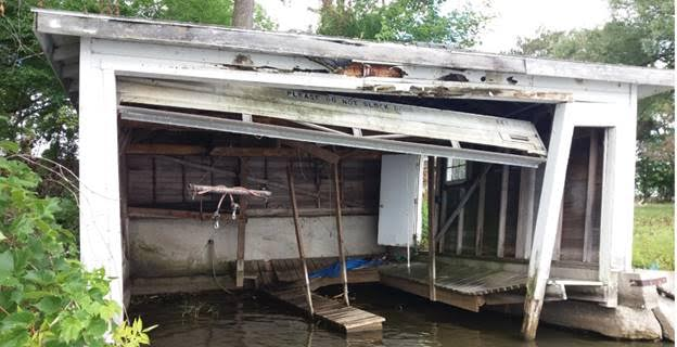 Boat House - Before
