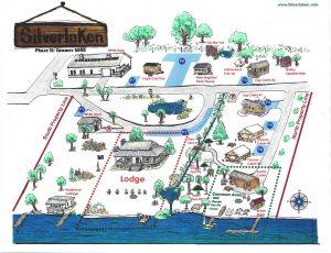 2020 Phase 2 Summer Map of Silverlaken Estate