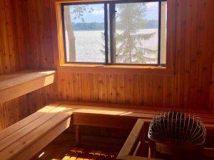 Sauna & Showers