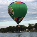 Hot Air Ballon Arrives