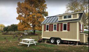 iny House Village:  New England Tiny Farm House