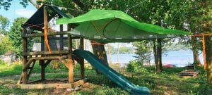 Tree Tent with Rain Tarp