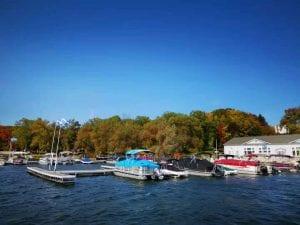 Marina: Boat Rentals: 1 minute away