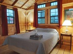 Tiny Timber Frame Cabin