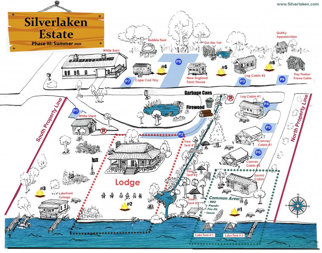 Silverlaken Estate Map 2021
